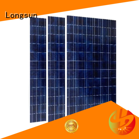 Longsun long-lasting high power solar panels manufacturer for traffic field
