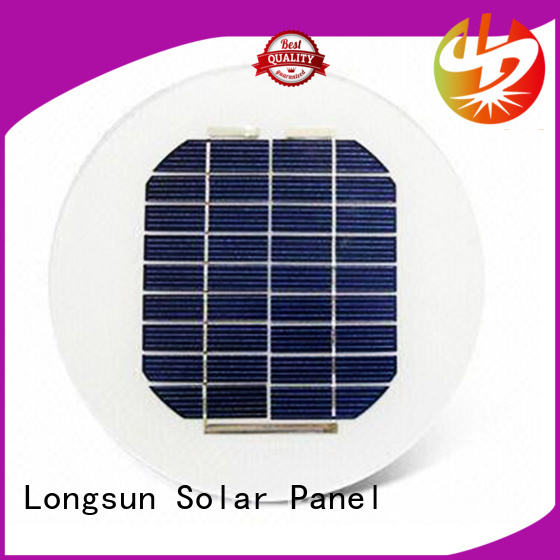 Longsun round solar cell panel customized for other Solar applications