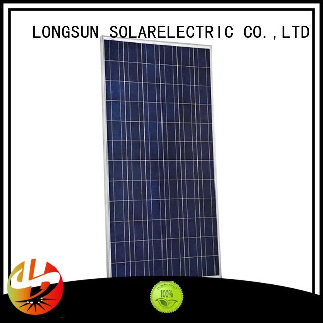 Longsun 340w high watt solar panel overseas market for petroleum