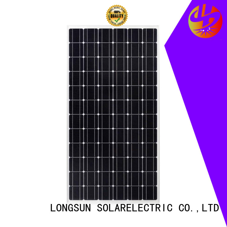 Longsun durable monocrystalline pv module supplier for space