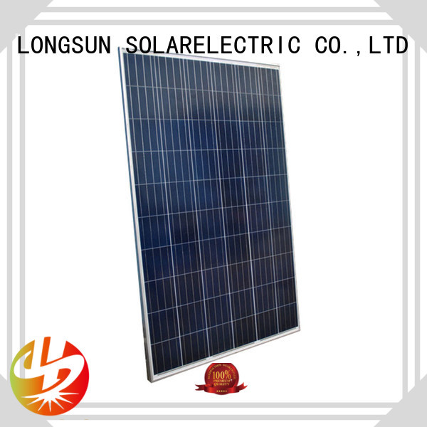 competitive price best solar panel company 285w customized for meteorological