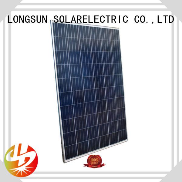 Longsun long-lasting powerful solar panels manufacturer for powerless area