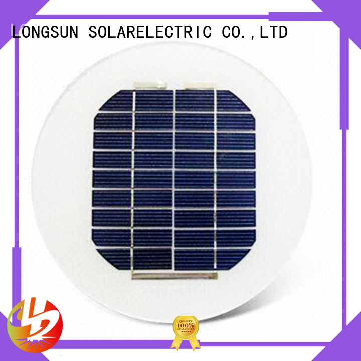 Longsun long life span solar cell panel series for Solar lights