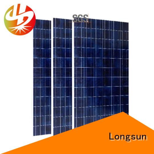 Longsun 270w highest rated solar panels overseas market for traffic field