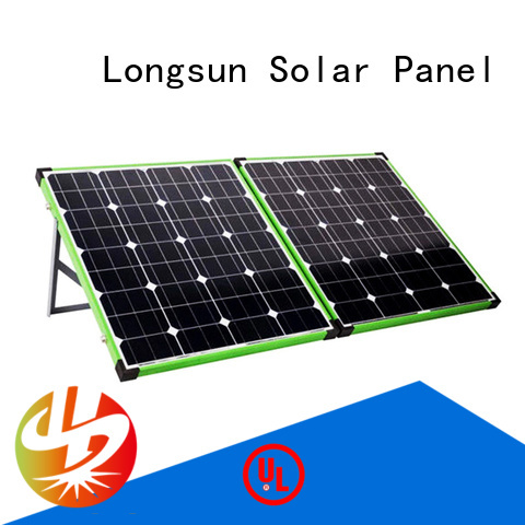 Longsun high-end solar panel for camping solar for camping