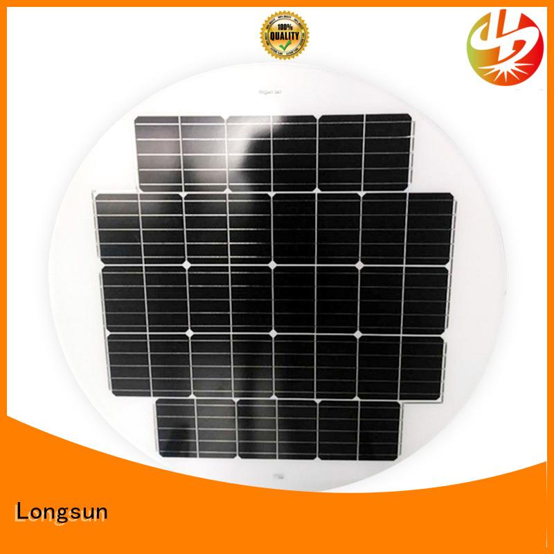 Longsun 80w solar cell panel wholesale for Solar lights