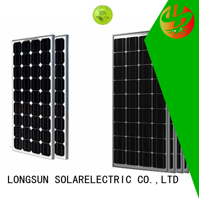 Longsun 320w powerful solar panels overseas market for meteorological