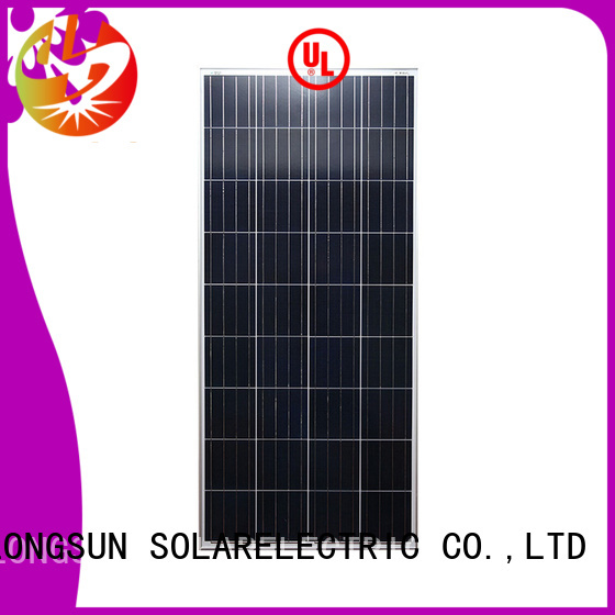 Longsun widely used poly panel supplier for solar power generation systems