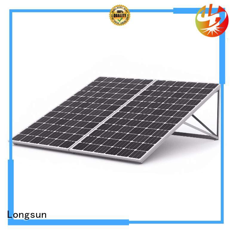 Longsun mono high output solar panel manufacturer for meteorological