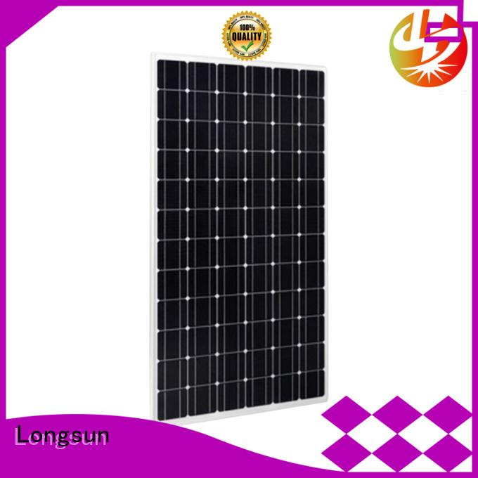 Longsun durable sunpower solar panels supplier for meteorological
