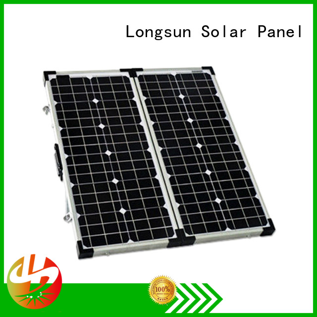 Longsun kits best foldable solar panel overseas market for caravaning