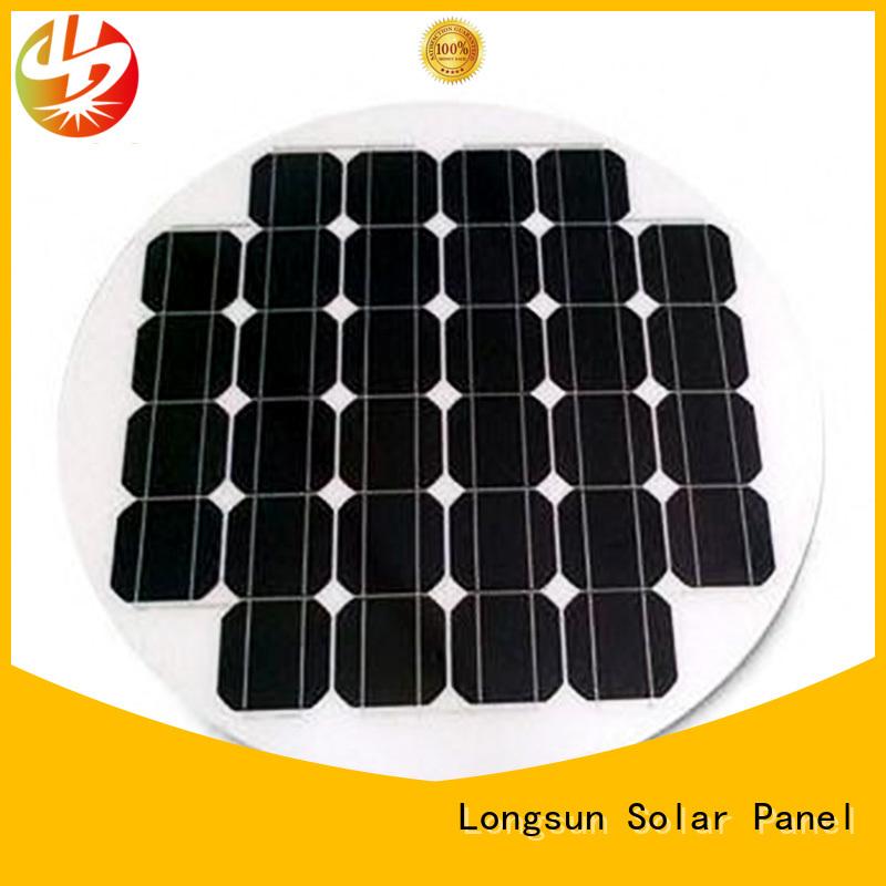 UV resistant new solar panels circle customized for Solar lights