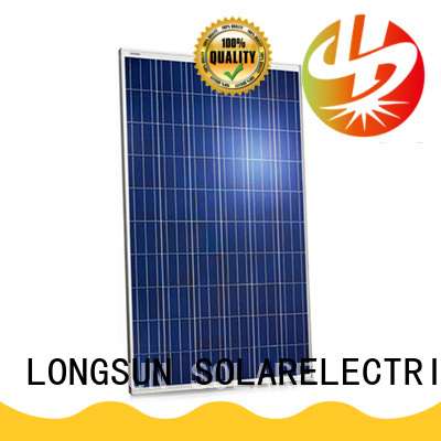 Longsun panel sunpower solar panels supplier for meteorological