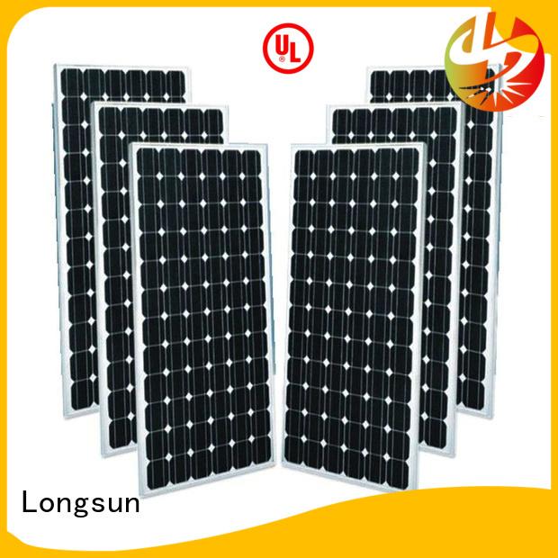 Longsun sturdy monocrystalline solar cell directly sale for ground facilities