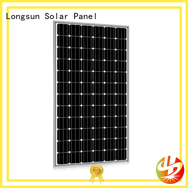 Longsun widely used high quality solar panel overseas market for communication field