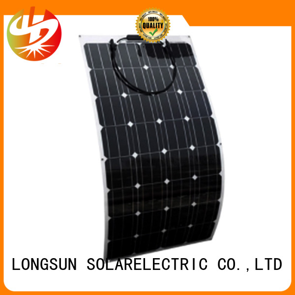 natural semi-flexible solar panel panel wholesale for roof of rv