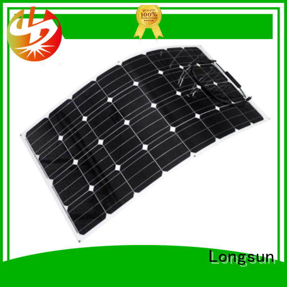 Longsun 120w panel solar flexible directly sale for yachts