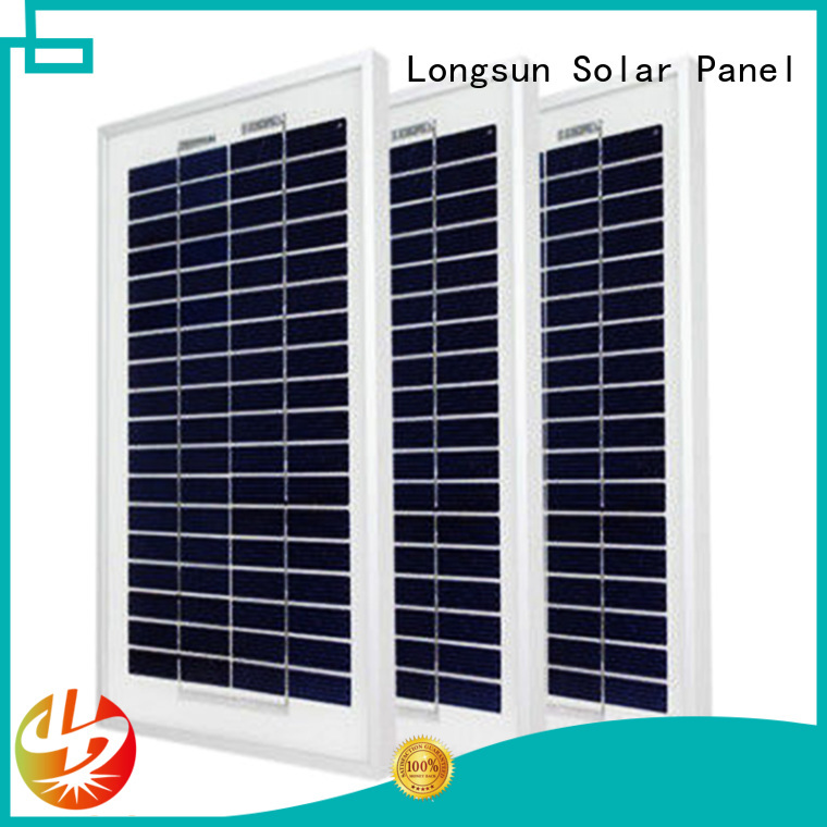 Longsun panels poly solar panel owner for aerospace