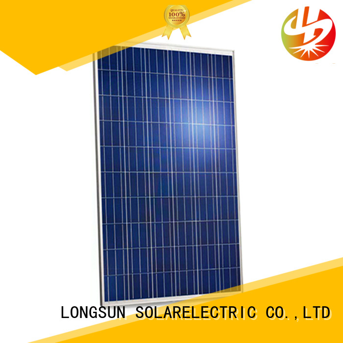 Longsun series highest rated solar panels factory price for communication field