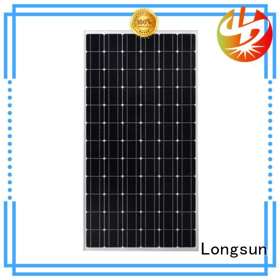 Longsun long-lasting sunpower solar panels marketing for lamp power supply