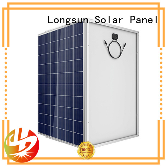 high performance solar panels 285w for powerless area Longsun