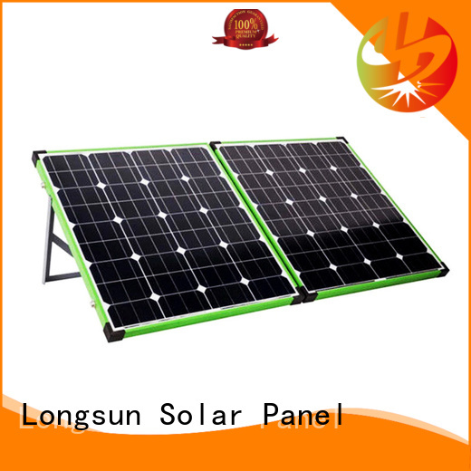 Longsun foldable best foldable solar panel directly sale for camping