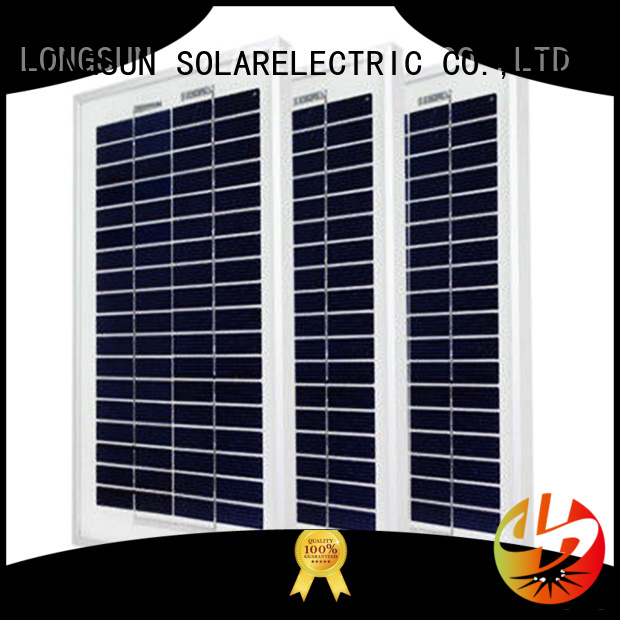Longsun competitive price solar module suppliers directly sale for solar street lights