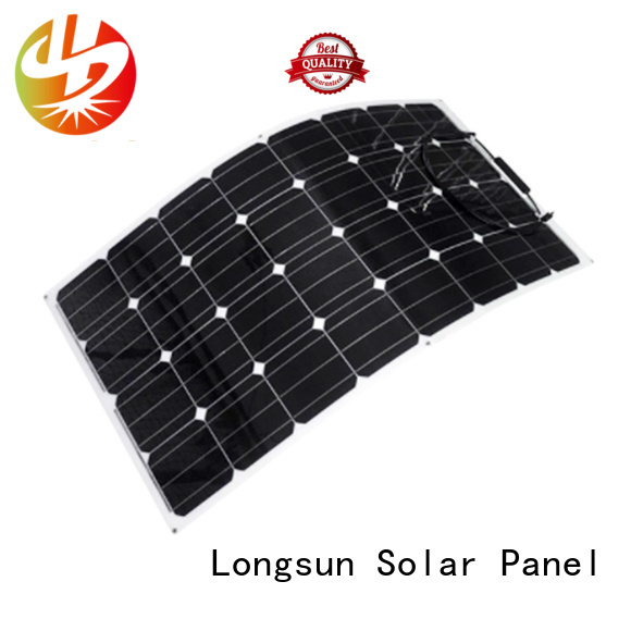 widely used semi-flexible solar panel 120w factory price for boats