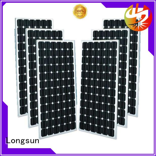Longsun durable monocrystalline solar cell producer for ground facilities