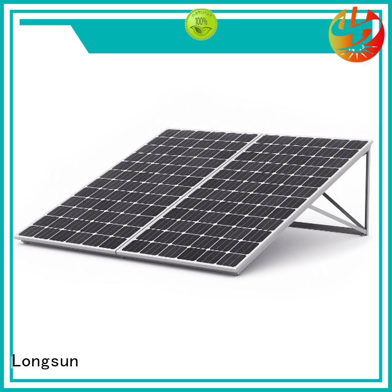 Longsun online highest rated solar panels customized for photovoltaic power station