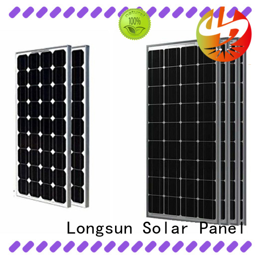 Longsun 280w powerful solar panels customized for powerless area