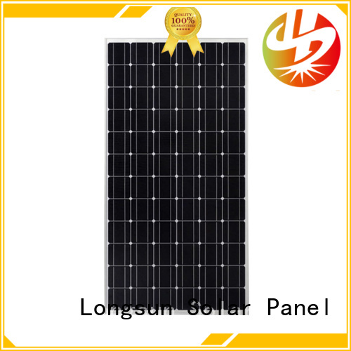 Longsun 320w high power solar panels customized for marine