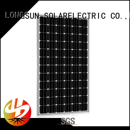 Longsun 280w powerful solar panels marketing for traffic field