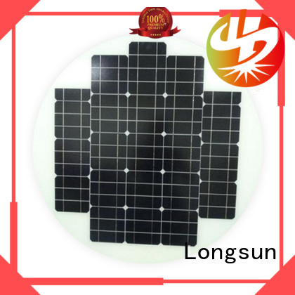 widely used round solar panels 80w customized for Solar lights