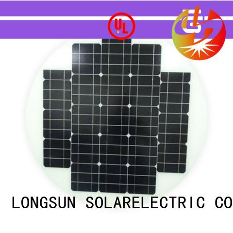 Longsun 60w round solar panels customized for other Solar applications