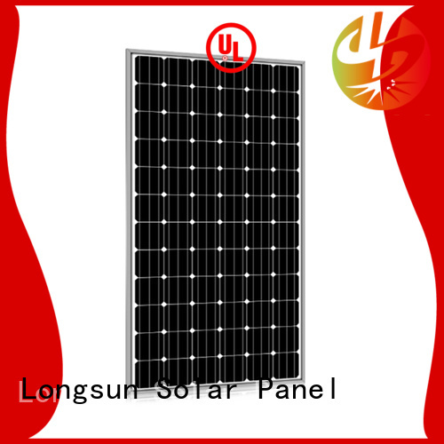 Longsun durable high capacity solar panels wholesale for meteorological