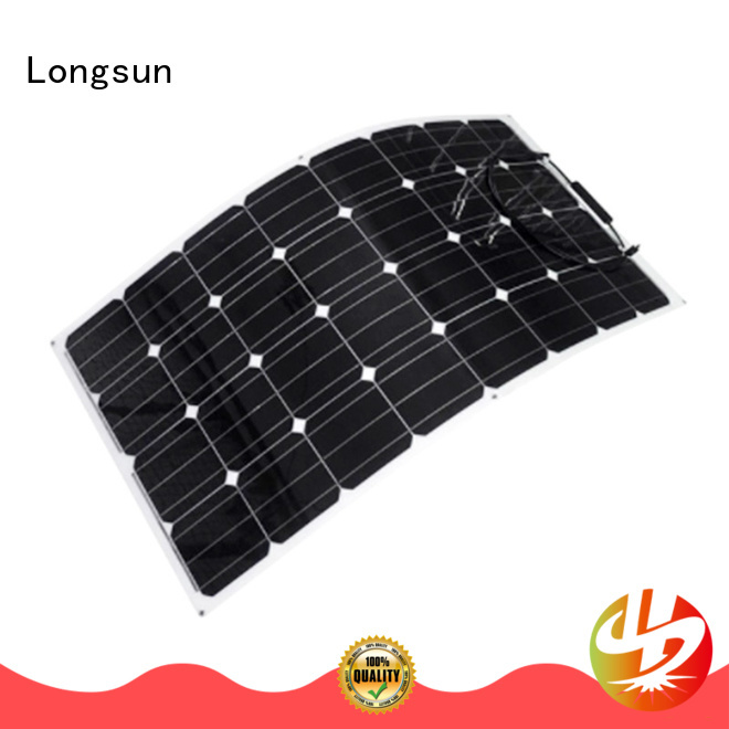 Longsun natural panel solar flexible dropshipping for yachts