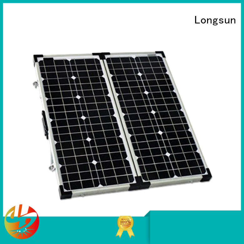 Longsun widely used best foldable solar panel producer for 4WD