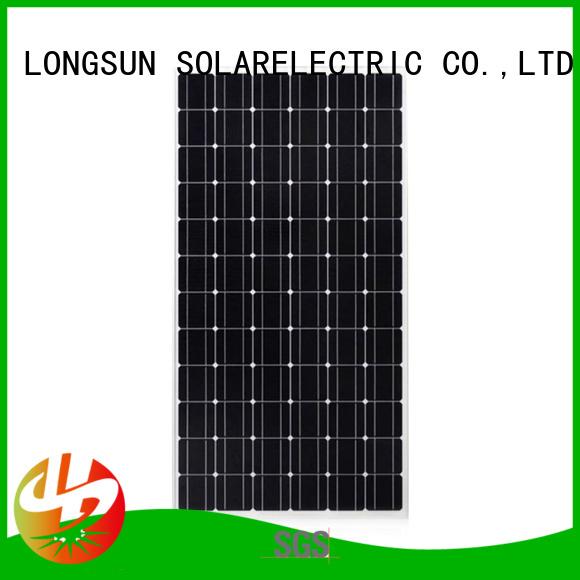 Longsun 250wpmono mono solar panel overseas market for space