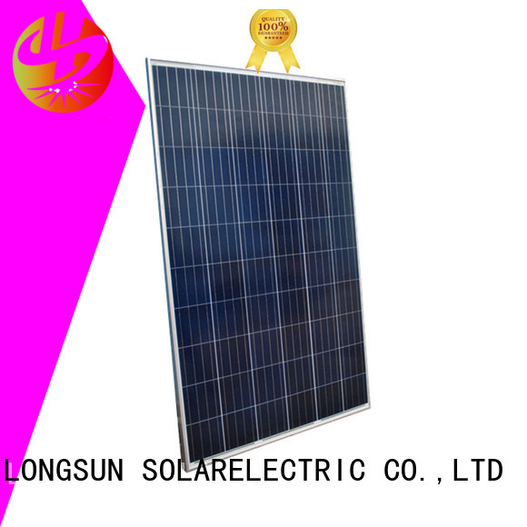 Longsun 350w highest watt solar panel supplier for communication field