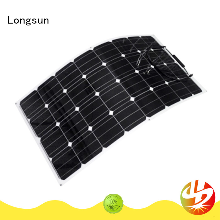 Longsun 120w flexible solar panels for boats dropshipping for yachts