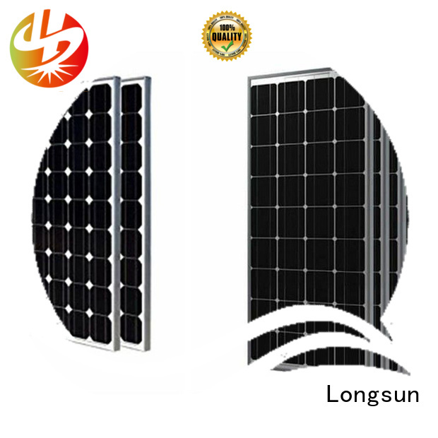 Longsun competitive price high quality solar panel factory price for traffic field