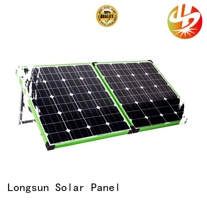 Longsun portable solar panels factory price for camping