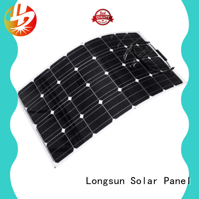 Longsun widely used panel solar flexible directly sale for boats