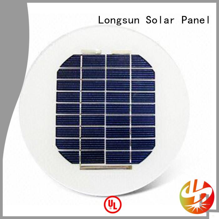 durable solar panel for street light customized for Solar lights Longsun