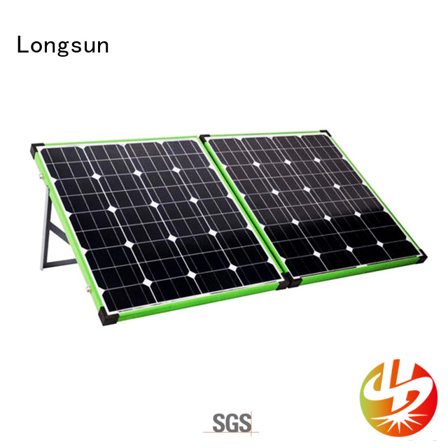 Longsun widely used best foldable solar panel dropshipping for caravaning