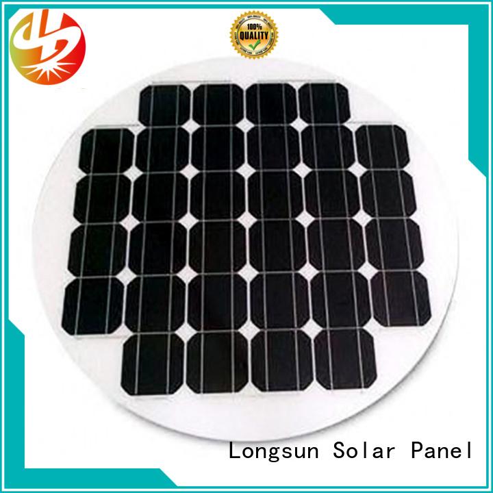solar round solar panels wholesale for Solar lights