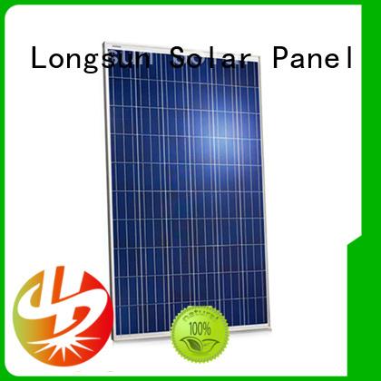 Longsun panel high watt solar panel overseas market for marine