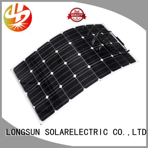 Longsun 120w semi-flexible solar panel wholesale for yachts