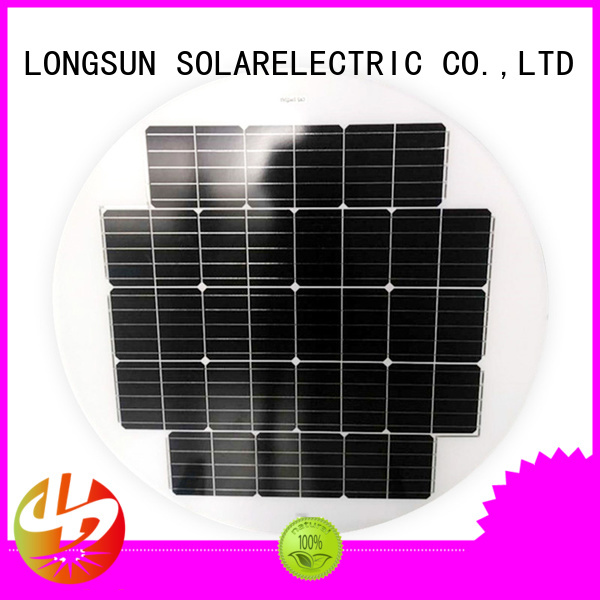 Longsun panel round solar panels factory price for other Solar applications